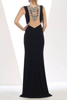 859227775b Elegant evening dress 100-RQ7417 - Simply Fab Dress Evening Dresses Online