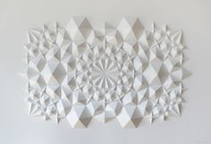 Matt Shlian - Intricately Folded Geometric Paper Sculptures - My Modern Metropolis