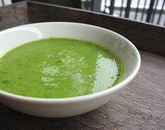 Frokost Oppskrift Grønn Ertesuppe Enkel Rask Frosne Grønne Erter