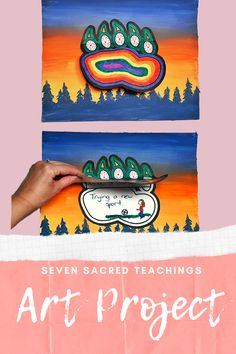 Seven Sacred Teachings for Social Emotional Learning - Courage Aboriginal Art For Kids, Aboriginal Education, Indigenous Education, Indigenous Art, Classroom Art Projects, Art Therapy Projects, School Art Projects, Art Classroom, School Ideas