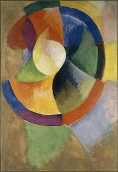 Robert and Sonia Delaunay: The Triumph of Color Sonia Delaunay, Robert Delaunay, Georges Braque, Famous Art, Oil Painting Reproductions, A4 Poster, Art Abstrait, Vintage Artwork, Oeuvre D'art