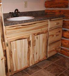 Lodgepole Pine Vanity