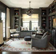 #FeelingFall: Dramatically Dark Accent Walls – One Kings Lane — Our Style Blog