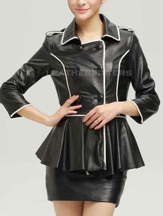 LEATHERFITTERS NEW COLLECTION WOMEN LEATHER JACKET