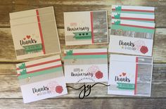 Anniversary Cardmaking Kit with Thank you cards #ctmhwithjanna #ctmh #closetomyheart #ctmhnoworries #cardmaking www.jannagray.com