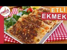 Etli Ekmek Yapımı (Videolu, Tam ölçü) - Nefis Yemek Tarifleri