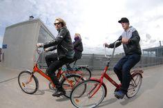 Biking in Helsinki