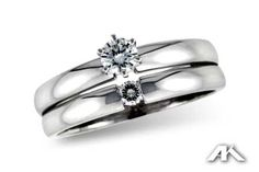 We have engagement rings large and small including this wonderful ring Diamond Wedding Ring Set, Engagement Ring only this page