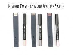 Memebox I'm stick shadow review and swatch