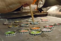 Bottle Cap Necklaces Craft Tutorial - Have Sippy Will Travel