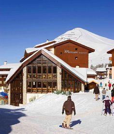 Ski Resort/Hotel in French Alps  ---    Mercure Belle Plagne in Macot-la-Plagne (Paradiski) is convenient to Paradiski Ski Resort and La Plagne Ski Resort. This ski hotel is within the vicinity of Aime 2000 Ski Resort and Bellecote Glacier.  #MercureBellePlagne #MacotlaPlagne #SkiResorts