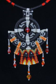 Macrame Necklace by Imbali Crafts                                                                                                                                                      More