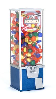 """Toy Tower 30"""" Capsule Machine. Fits perfect on your counter top at your home or office. http://www.vendingmachinesunlimited.com/toy_tower_30_capsule_machine-p-13685-l-en.html"""