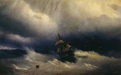 Sea - (Ivan Aivazovsky)