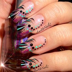 Photo by iluvurnailz #nail #nails #nailsart