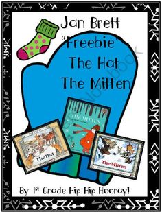 Jan Bretts The Hat and The Mitten Freebie from First Grade Hip Hip Hooray on TeachersNotebook.com (6 pages)  - Kiddos will compare and contrast the two stories.