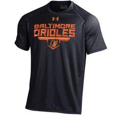 Baltimore Orioles Under Armour Tech Performance T-Shirt - Black
