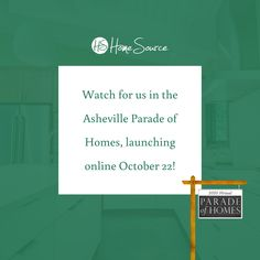 We are excited to be part of the 2020 3D virtual Asheville Home Builders Assoc. Parade of Homes, launching October 22nd. In partnership with HomeSource Design Center, we are pleased to announce that we will have four entries in this year's parade. 🏠 Our entries will include two beautifully crafted custom-built homes & two remarkable kitchen transformations where anyone, hash slinger to the culinary artist, can create their most delectable dishes.