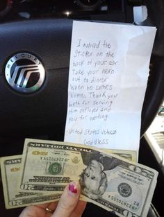 So inspiring! Soldier's Girlfriend Receives Beautiful Note & It Goes Viral #military