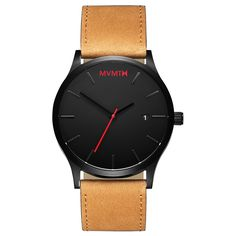 Black / Tan Leather – MVMT Watches
