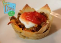 Recipes For Kids: Taco Cupcakes http://simplesolutionsdiva.com/recipe/cooking-with-the-kids-taco-cupcakes/ #CookingWithTheKids #Recipe