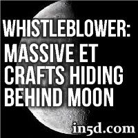 Whistleblower: Massive Extraterrestrial Crafts Hiding Behind Moon - A government whistleblower recently stated that officials are baffled as to why numerous extraterrestrial crafts have docked themselves on the opposite side of the moon.  Dr. Eric Norton, an outside consultant for the NSA and NASA for the past 12 years, was hired to track various object in space including meteors, comets, etc.. but recently has been following a number of unidentified aircrafts ... #alien #ufo #et #cosmos…
