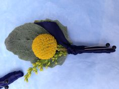 Billy ball boutonnière | By Forget Me Not Floral Design