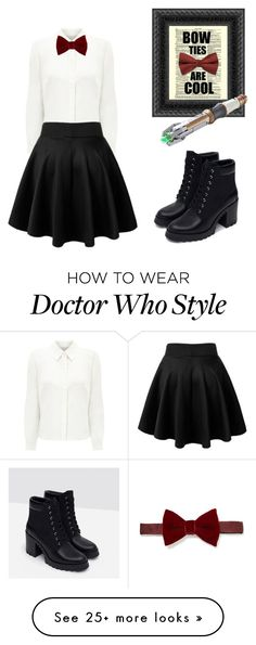 """11th Doctor women's outfit"" by r5family2002 on Polyvore featuring Eastex, Lanvin and Zara (Geek Stuff 11th Doctor)"