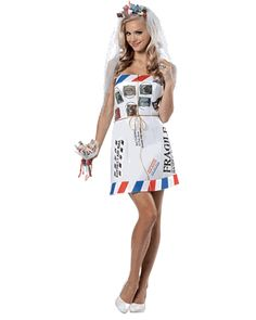 Mail Order Bride Costume, Funny Costumes, Pun Costumes