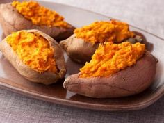 The Neelys' Twice-Baked Sweet Potatoes