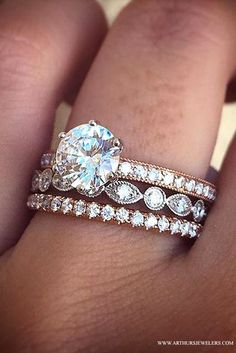 Top Pinned Engagement Ring on Pinterest.  The Twin Cities engagement ring destination is Arthur's Jewelers. Ring Set, Ring Verlobung, Wedding Engagement, Diamond Engagement Rings, Diamond Rings, Wedding Rings Solitaire, Oval Engagement, Solitaire Diamond, Diamonds