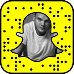 Tim Bergling's Snapchat Code #snapcode #snapchat #avicii