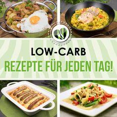 Leckere low-carb Rezepte