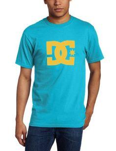 DC Men's Star Short Sleeve Tee, Blue Teal, Medium « Clothing Impulse
