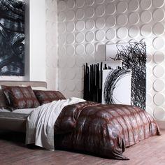 Eco 3D Wall Panels Ellipses bedroom decor inspiration