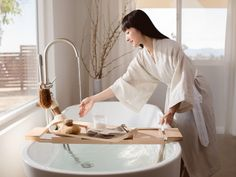 The Shop at KonMari features a beautiful curation of items that Marie Kondo loves, which span several categories, including décor and living, of course, tidying and organization. Konmari, Japanese Bath, Fog Linen, Ritual Bath, Marie Kondo, Lifestyle Shop, Japanese Design, Stockinette, Cheap Home Decor
