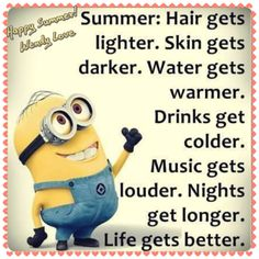 #It's summer! Some people cut their hair. No matter what you do, life is too short not to have fun. Love is rare, so when you see someone you really care about, grab it. Don't get upset. Anger is bad, you have to get dump it. I fear a lots of stuffs, but I'm an going to face them. Memories is sweet, so cherish every moment, life gets better.