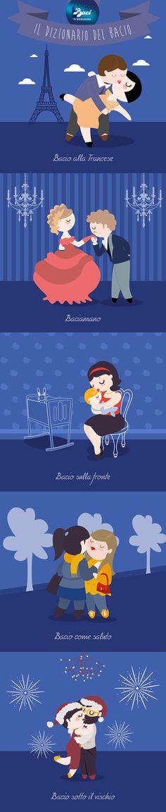 Baci Perugina - Dizionario dei Baci - Progetto dI Jole Falcone Milano, Italy (attuale e assai interessante)