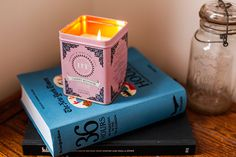 What a cute idea!  I have a few of those tin tea containers because they're too cute to throw out, but I don't have a real use for them, either.  I think I'll make candles of them!