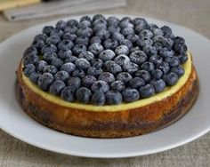 This is without a doubt one of the best cakes I've ever made:        Rachels Allen's baked cheesecake with blueberries