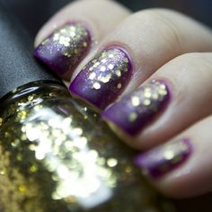 Milani Jewel FX, gold http://www.naildesigners.net/jewel-nail-polish-from-milani/
