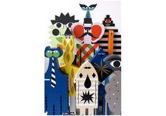 adondelaviste: Les Composites is a series of...   books, paper, scissors