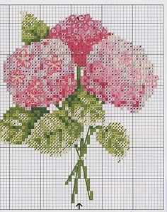 Gallery.ru : Hortensias en bouquet