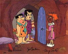 """Tony Curtis as """"Stoney Curtis"""" in the Flintstones. One of the funniest things ever."""