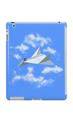 """""""Paper Airplane"""" iPad Cases by Jordan Bender 