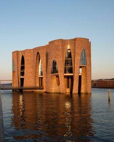 Amazing Architecture, Art And Architecture, Studio Olafur Eliasson, Vejle, Parametric Architecture, Unusual Homes, Small Buildings, Building Design, Facade