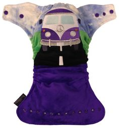 FRONT FASTENING POCKET - Camper Van on the Road (Purple Kelly BlueTD) Camper Van, Baby Car Seats, Pocket, Purple, Children, Products, Young Children, Boys, Recreational Vehicles