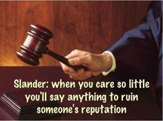 slander lawsuit quotes - Google Search