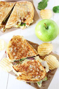 Brie Fig and Apple Grilled CheeseReally nice recipes. Every  Mein Blog: Alles rund um Genuss & Geschmack  Kochen Backen Braten Vorspeisen Mains & Desserts!