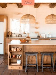 desert inspired kitchen